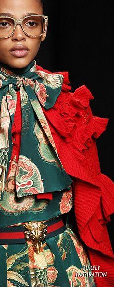 Gucci FW2016 Women's Fashion (runway details) RTW | Purely Inspiration