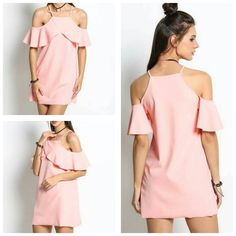Off shoulder ruffle mini dress Price 1350 #womens #girls #dress