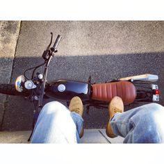Would you jump??  #rideoftheday #pov #honda