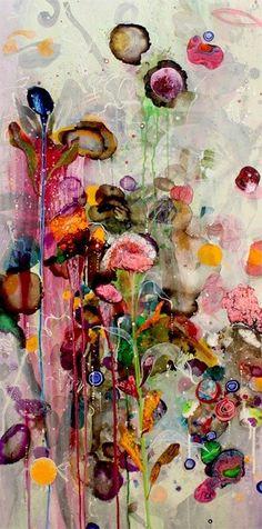 """acqua-di-fiori: """" By Amanda Krantz Contemporary Australian Artist """""""