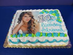 Taylor Swift Birthday Cake For Ashley