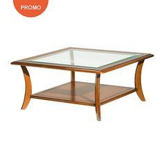 Table Basse Carrae : Table basse carrée Maélia