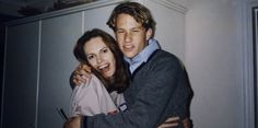 Heath and his mom.