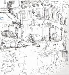 The Art Department- KCMO: Trey Bryan's Sketchbook From Paris