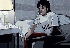 Michael Jackson by David Nordahl