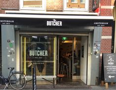 The Butcher- great burgers! Amsterdam.