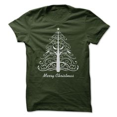 (Males's T-Shirt) Artistic Christmas Tree 6 - Buy Now...
