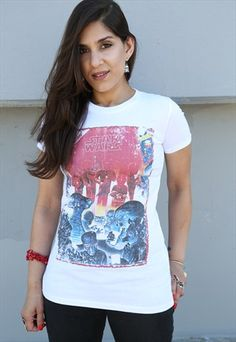 Star Wars 'Poster Cantina' Ladies T-shirt