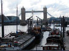 Tower bridge from top mast Tower Bridge, Brooklyn Bridge, Sailing, Boat, London, Travel, Candle, Dinghy, Viajes