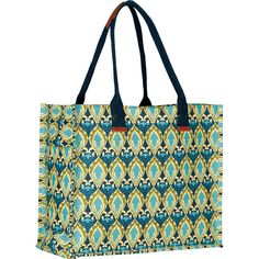 RockFlowerPaper Avery Gigi Bag ($40) ❤ liked on Polyvore featuring bags, handbags, tote bags, handbags totes, long purses, tote bag purse, tote purse and blue handbags