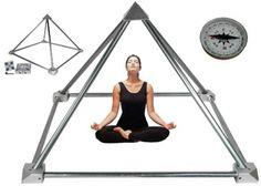 Meditatie Piramide bouwpakket zonder buizen aluminium - Webshop