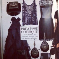 Mukhi Sisters, polki ring and earrings, featured in Elle Oriental, November'13