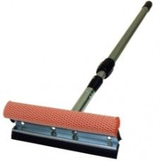 "Squeegee-8"" with 21-32"" adj. handle."
