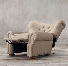 Churchill Recliner with Nailheads Furniture Vanity, New Furniture, Online Furniture, Fireplace Furniture, H & M Home, Buy Chair, Selling Furniture, Home Hardware, Discount Furniture