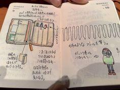 モレスキン絵日記