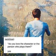 Of course! The character. The only reason I figured out the books is cuz of the movies. I cried when chuck and newt died. My heart broke when Teresa died. And thought Minho could be a little annoying but is a great leader. And I lived through the maze and the scorch with Thomas. And I helped him destroy WICKED and get to paradise