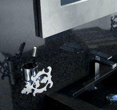 #bagno con #accessori della #serie #Grimilde www.bertocci.it