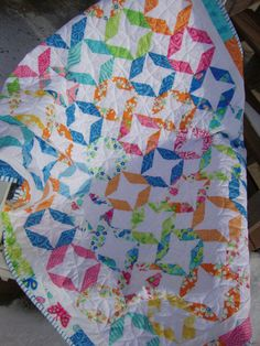 Whirl Crib Quilt