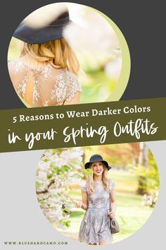 It's no surprise that spring clothing means bright colors and bold prints, but what if I told you it's TOTALLY fine to wear darker hues for spring?! I know, crazy talk! But I'm here to tell you that with my 5 reasons, you too are going to LOVE darker colors this spring (and fall for that matter)! Let's get styling! #outfitoftheday #springlook #casualspringfashion