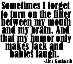 Sometimes I forget... - Alex Gaskarth saMe