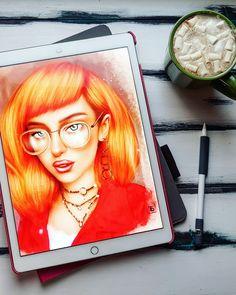 #ipadart  #picture #digitalart  #digitalpainting  #ipad #portraits