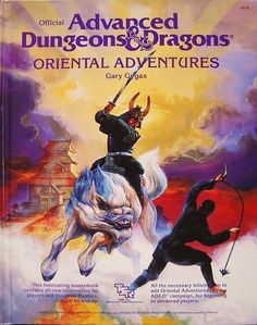 Oriental Adventures - this was on my 'keep an eye out for it' list for a long time. Finally have a copy.