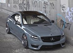 CL63 AMG - Love the gunmetal color. #caraccessories