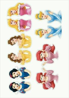 Risultati immagini per disney princess cupcake toppers free printable Princess Cupcake Toppers Cinderella Belle by CreativeTouchhh Cake pop toppers, or favor bag toppers To print and make edible Cupcake toppers Party topper - Belle to top a yellow topiary Disney Princess Cupcakes, Princess Cupcake Toppers, Cupcake Toppers Free, Disney Princess Birthday Party, Cinderella Party, Princess Cake Pops, Princess Sofia, Tangled Party, Tinkerbell Party