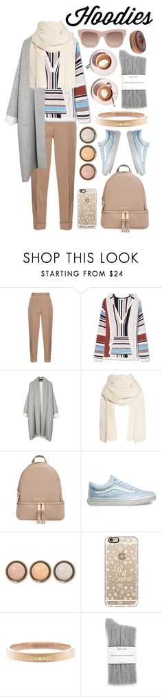 """Hoodies."" by pixiesandstuff ❤ liked on Polyvore featuring Martha Stewart, Bottega Veneta, Tory Burch, MICHAEL Michael Kors, Vans, By Terry, Casetify, Chanel, Splendid and STELLA McCARTNEY"