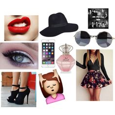 One Direction - Illusion by johannazayna-d on Polyvore featuring mode and Sunny Eyewear