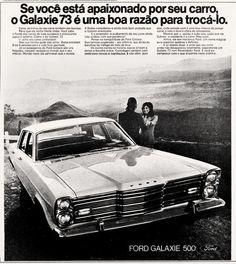 Anúncio Ford Galaxie 500 - 1972