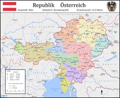 This alternative history map shows the German Empire in but unified by Austria instead of Prussia. The main point of divergence of this map is pla. German Empire unified by Austria (alt. Alternate Worlds, Alternate History, German Symbols, Hallstatt, Old World Maps, Fantasy Map, Central Europe, Fantasy Landscape, Historical Maps