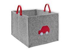 Aufbewahrungsbox+aus+Filz+-+Aplikation+freiwählbar+von+KraftKids+auf+DaWanda.com