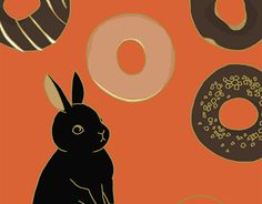 """Check out new work on my @Behance portfolio: """"donuts"""" http://be.net/gallery/45730901/donuts"""