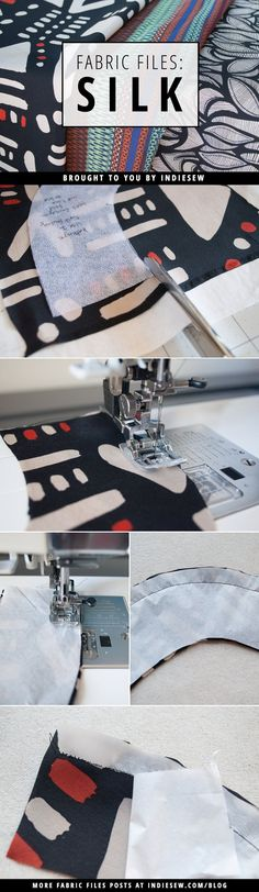 Made possible by an industrious little silkworm, silk fabric is where it's at. Find out why we love it so much! | Indiesew.com