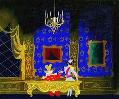 Mary Blair concept art for Cinderella. Love the color! Mary Blair, Walt Disney, Disney Pixar, Glenn Arthur, Animation Disney, Rabbit Illustration, Digital Illustration, Disney Artists, Disney Concept Art