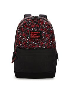 Superdry Floral Print Montana Rucksack A simple, staple rucksack, the Montana backpack by Superdry is perfect for carrying your essentials round campus this semester with its fun, flirty floral print bringing splashes of colour to your looks, while multiple compartments and pockets boast plenty of storage space for your must-have items.Carry everything from your books to your kit in this bag, whether you're heading to a class, off to the gym or even going away overnight, making the most of…
