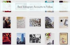 Best Instagram Accounts to Follow. Something for everyone: dogs, nature, space, hedgehogs, Scandal, yoga, and glitter!