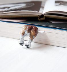 My Bookmark ウクライナから届いた小人のしおり 犬のおしり