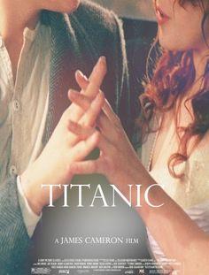 Titanic by James Cameron, 1997 Titanic Movie Poster, Titanic Movie Facts, Movie Posters, Titanic Quotes, Sad Movies, Great Movies, Movie Tv, Cult Movies, Kate Winslet And Leonardo