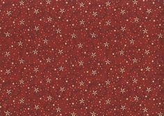 Red American Dreams Quilt Backing Fabric
