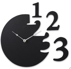 I need to find a fun clock like this for my babyroom.