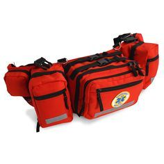 The ProPac Medical Responder Waist Pack contains first aid supplies in 16 easy to access pockets. Survival Prepping, Survival Gear, Survival Supplies, Survival Stuff, Survival Quotes, Disaster Preparedness, Medical Pictures, Medical Laboratory Science, Medical Bag