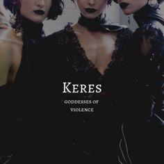 greek myth / keres keres / goddesses of violence Pretty Names, Cute Names, Unique Names, Baby Names, Girl Names, Unusual Words, Rare Words, Name Inspiration, Writing Inspiration