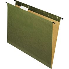 Pendaflex SureHook Hanging Folder Green Letter 20-count