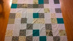 My first patchwork ever. Picnic Blanket, Quilts, Rugs, Projects, Crafts, Art, Scrappy Quilts, Farmhouse Rugs, Log Projects