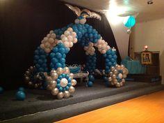 Balloon cinderella cariage