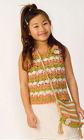 Ravelry: 29-34 Girls Camisole pattern by Pierrot (Gosyo Co., Ltd)