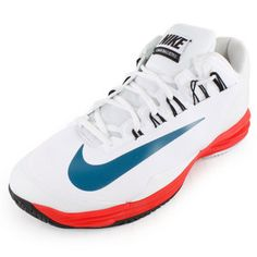 Nike Mens Lunar Ballistec Tennis Shoes White.