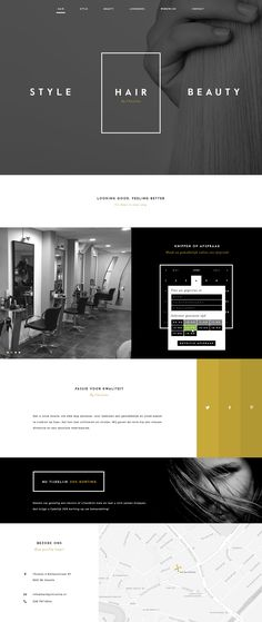 Hair by Christine, a local hair studio in Zwolle, approached us to redo the visual style, website and their strategy.